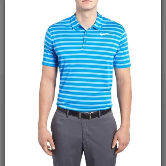 6d90935174611 Nike Men s Dri-fit Breathe Stripe Polo. B003